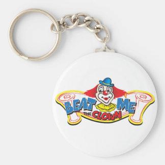 Porte-clés Battez-moi le clown