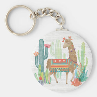 Porte-clés Beaux lamas III
