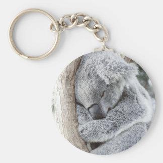 Porte-clés Bébé de sommeil de koala