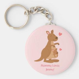 Porte-clés Bébé mignon Joey de kangourou pour des enfants
