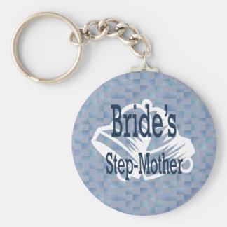 Porte-clés Belle-mère du porte - clé de jeune mariée