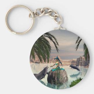 Porte-clés Belle sirène