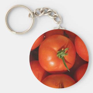 Porte-clés Belles tomates du cru mûres