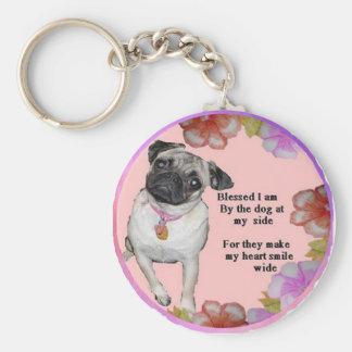 Porte-clés Bénédiction de chien
