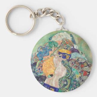 Porte-clés Berceau de bébé de Gustav Klimt