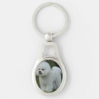 Porte-clés Bichon adorable