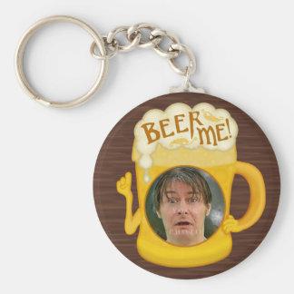Porte-clés Bière drôle je photo personnalisée par | potable