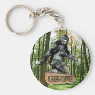 Porte-clés Bigfoot I croient le porte - clé