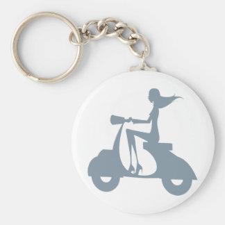 Porte-clés Bigorneau de scooter de fille