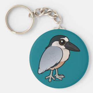 Porte-clés Birdorable Bateau-a affiché le héron