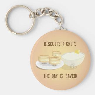 Porte-clés Biscuits et porte - clé des poussières abrasives |