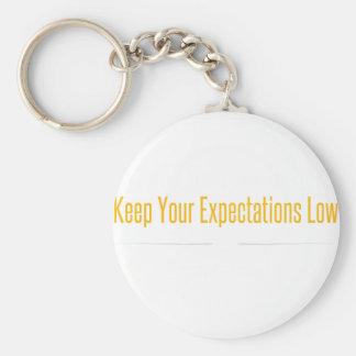 Porte-clés Blanc vide d'esprit