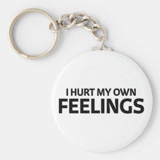 Porte-clés Blessez mes propres sentiments