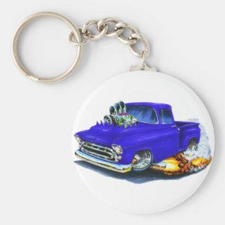 Porte-clés Bleu 1957 de collecte de Chevy