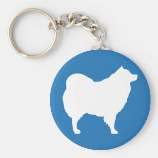 Porte-clés Bleu de porte - clé d'Eskie