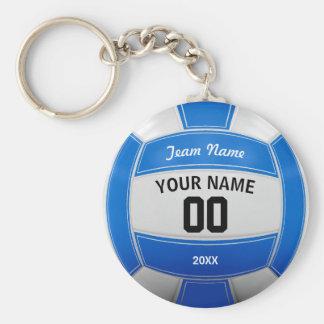 Porte-clés Bleu nommé d'équipe de l'année du joueur de
