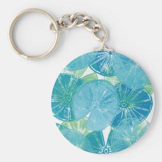 Porte-clés Bleus de protection de lis