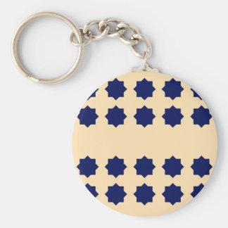 Porte-clés Blocs de luxe d'ethno de conception