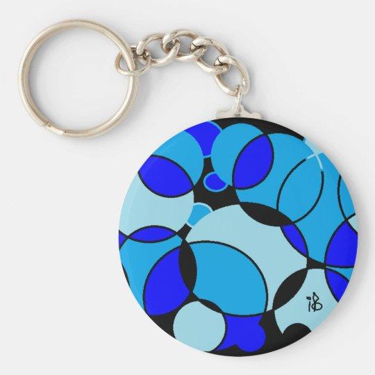 Porte-clés blue circle
