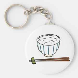 Porte-clés Bol de riz japonais