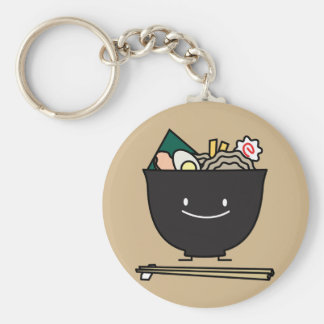 Porte-clés Bol heureux de Ramen