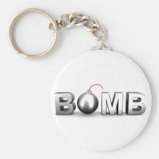 Porte-clés Bombe