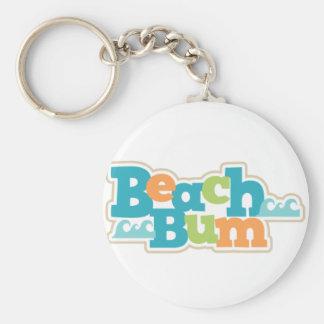 Porte-clés Bon à rien de plage