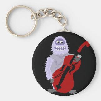 Porte-clés Bonhomme de neige abominable mignon drôle avec le