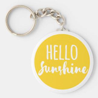 Porte-clés Bonjour soleil