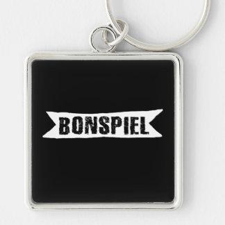 Porte-clés Bonspiel, porte - clé de bordage de tournoi d'A