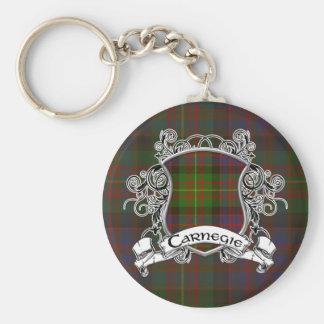 Porte-clés Bouclier de tartan de Carnegie