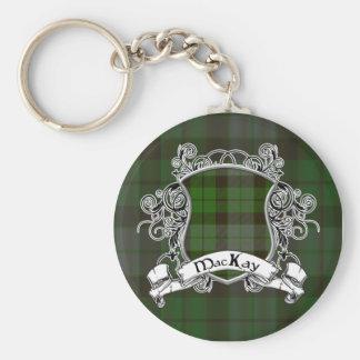 Porte-clés Bouclier de tartan de MacKay