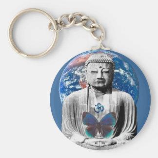 Porte-clés Bouddha attend le porte - clé