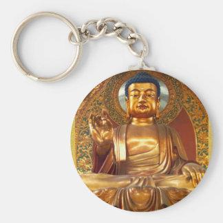 Porte-clés Bouddha d'or - porte - clé