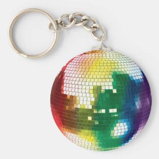 Porte-clés boule de disco de fierté