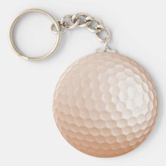 Porte-clés Boule de golf du porte - clé | - toute couleur.