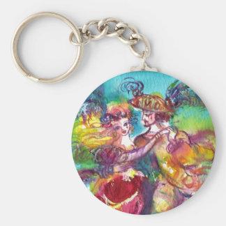 Porte-clés Boule de mascarade vénitienne de DANSE de CARNAVAL