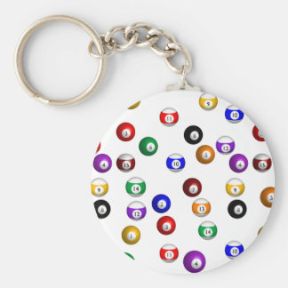 Porte-clés Boules de piscine