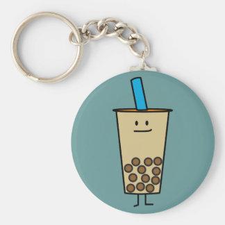 Porte-clés Boules de tapioca de thé de lait de perle de Boba