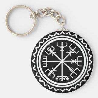Porte-clés Boussole nautique de Viking Vegvisir