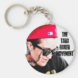 Porte-clés Bouton 1 de porte - clé de mouvement de TaraBaker