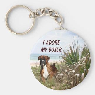 Porte-clés Boxeur dans le porte - clé de roseau des sables