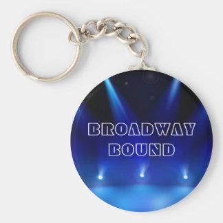 Porte-clés Broadway bondissent le porte - clé