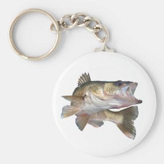 Porte-clés Brochets vairons de pêche
