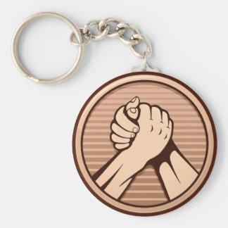 Porte-clés Bronze de bras de fer