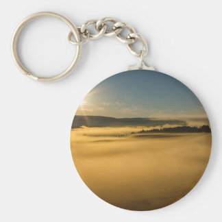 Porte-clés Brouillard sur le lac Yellowstone