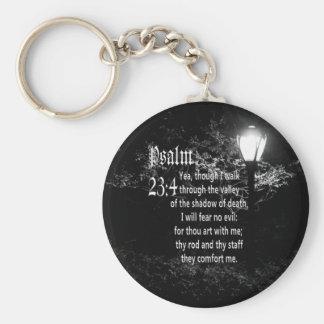 Porte-clés Cadeau chrétien fait sur commande de vers de bible