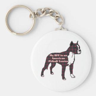 Porte-clés Cadeaux américains de Terrier de pitbull