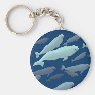 Porte-clés Cadeaux d'art de baleine de porte - clé de baleine