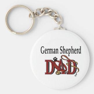 Porte-clés Cadeaux de papa de berger allemand